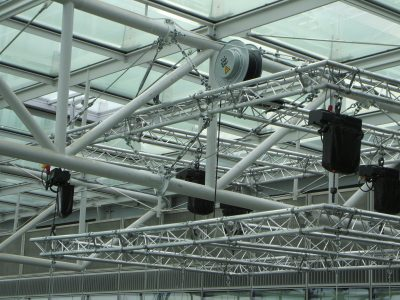Truss Lighting Grid for Legal Offices