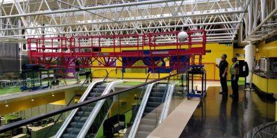Truss UK installing a bespoke access solution